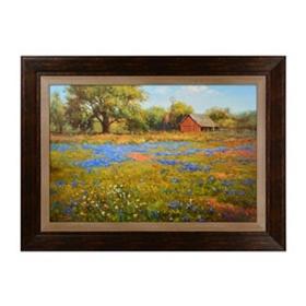 Texas Bluebells Framed Art Print