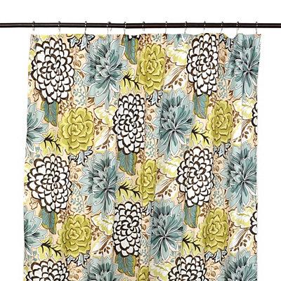 Floral Petals Shower Curtain