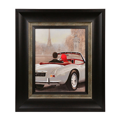 A Ride in Paris II Framed Art Print