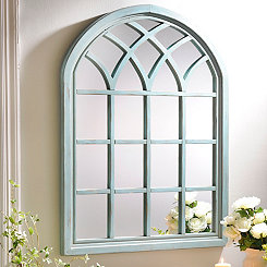 Turquoise Sadie Arch Mirror
