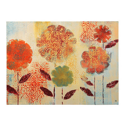 Paprika Garden Canvas Art Print
