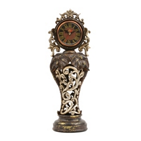 Ornate Bronze Elsie Tabletop Clock