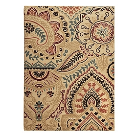 Jackson Multicolor Henna Area Rug, 5x7