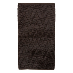 Chevron Chocolate Bubble Bath Mat