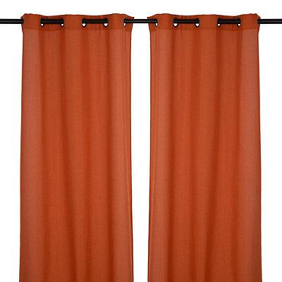 Spice Rita Curtain Panel Set, 84 in.