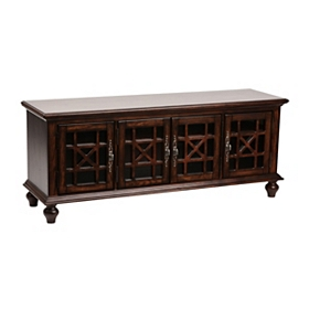 Antique Brown Media Console