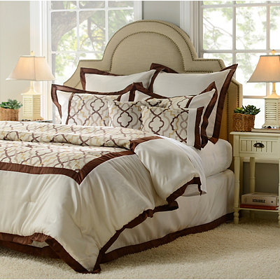 Brown Marrakech 8-pc. Queen Comforter Set