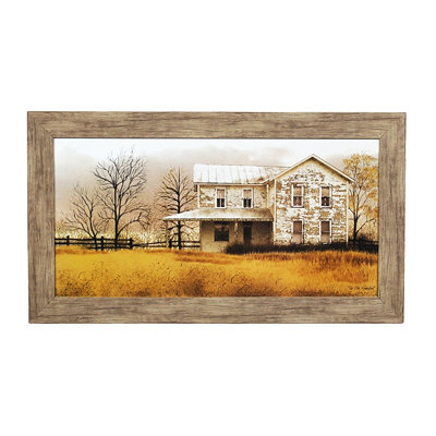 Old Homeplace Framed Art Print