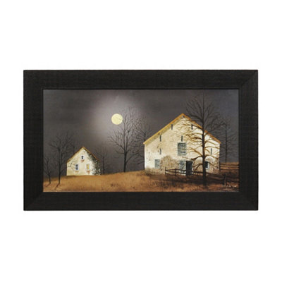 Still of the Night Framed Art Print