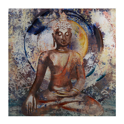 Buddha Statue Canvas Art Print