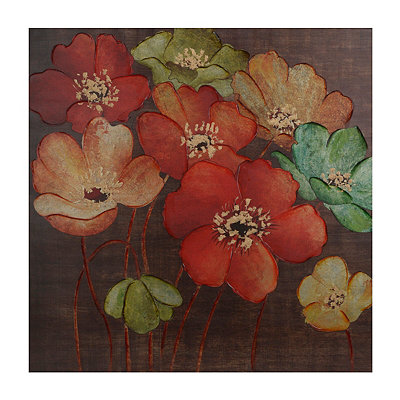 Graceful Flowers Canvas Art Print