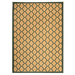 Jackson Blue Lattice Area Rug, 7x9
