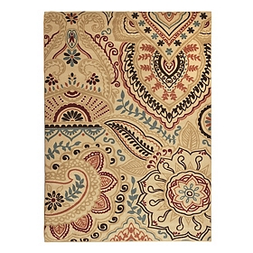 Jackson Multicolor Henna Area Rug, 7x9