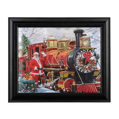 Christmas Express Framed Art Print