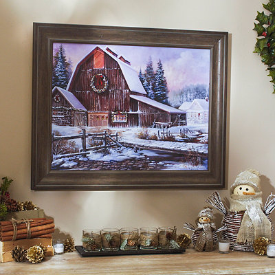 Bergeron Barn Framed Art Print