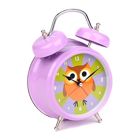 Talking Owl Tabletop Alarm Clock