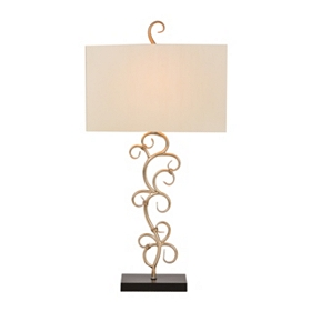 Fiametta Scroll Table Lamp