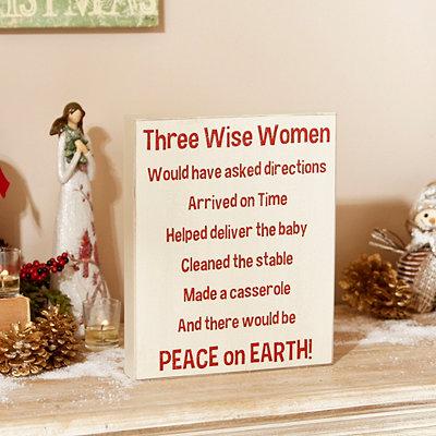Three Wise Women Plaque