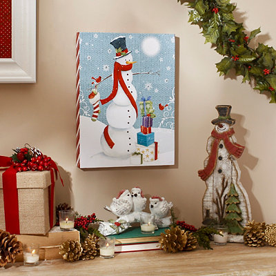 Snowman Gifts Plaque