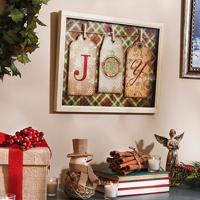Gift of Joy Shadowbox
