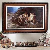 The Nativity Framed Art Print