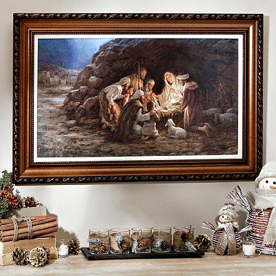 The Nativity Framed Art Print