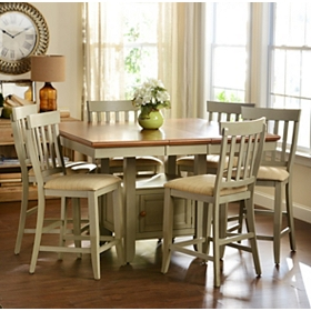 Pottersville Antique Gray Dining Table