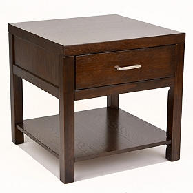 Vienna Espresso End Table