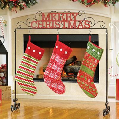 Merry Christmas Stocking Holder