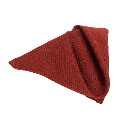 Burlap Red Napkin