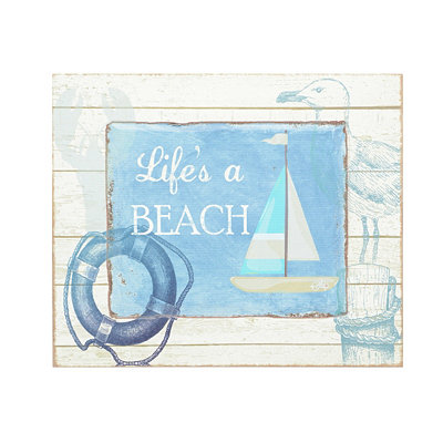 Life's a Beach Wall Plaque