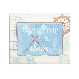 Welcome to the Shore Wall Plaque