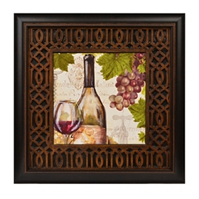 Botanical Wine II Framed Art Print