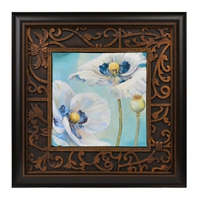 Blue Dance I Framed Art Print