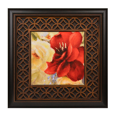 Red Blossoms I Framed Art Print