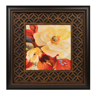 Red Blossoms II Framed Art Print