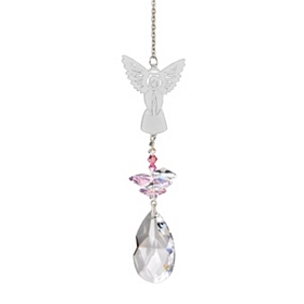 Crystal Angel Wind Chime