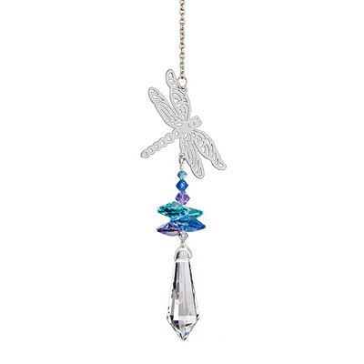 Crystal Dragonfly Wind Chime