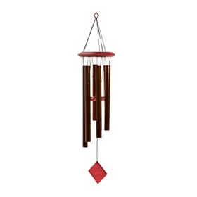 Bronze Pluto Wind Chime