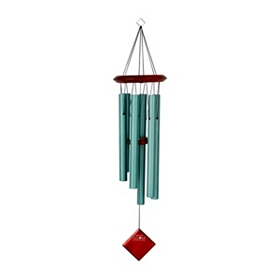 Turquoise Pluto Wind Chime