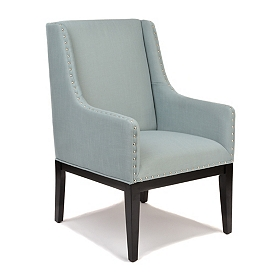 Light Blue Sargon Accent Chair