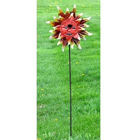 Morning Sun Birdhouse Stake