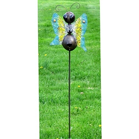 Butterfly Birdhouse Stake