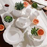 Victoria White 16-pc. Dinnerware Set