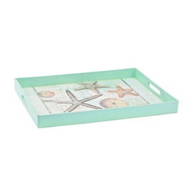 Teal Starfish Tray