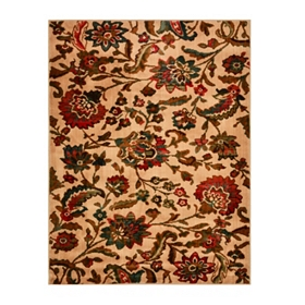 Straton Floral Area Rug, 5x7