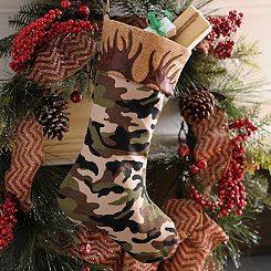 Full Camo Christmas Stocking