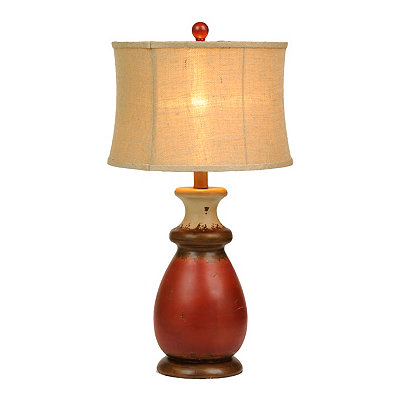 Farm Red Table Lamp