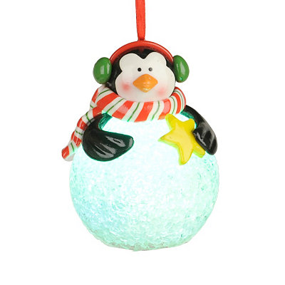LED Penguin Ornament