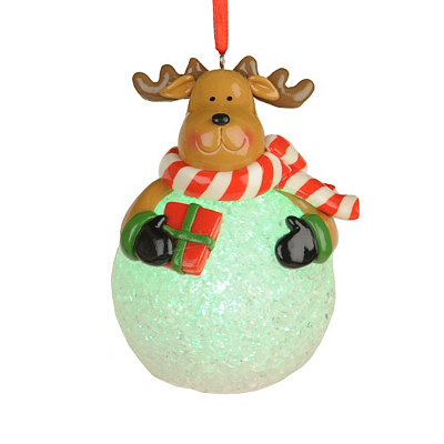 LED Reindeer Ornament